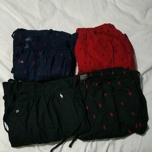 Bundle Polo Ralph Lauren Pajama Sleepwear Pants